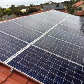 Large residential solar panels