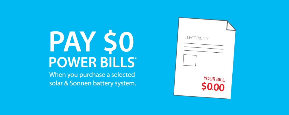 Pay $0 Power Bills for 2 Years